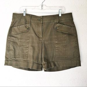 CAbi Olive Green Shorts